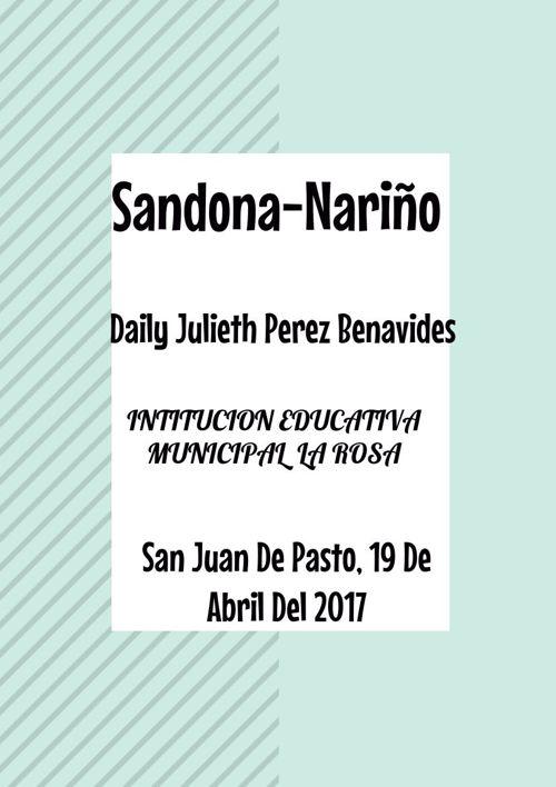 Sandona-Nariño