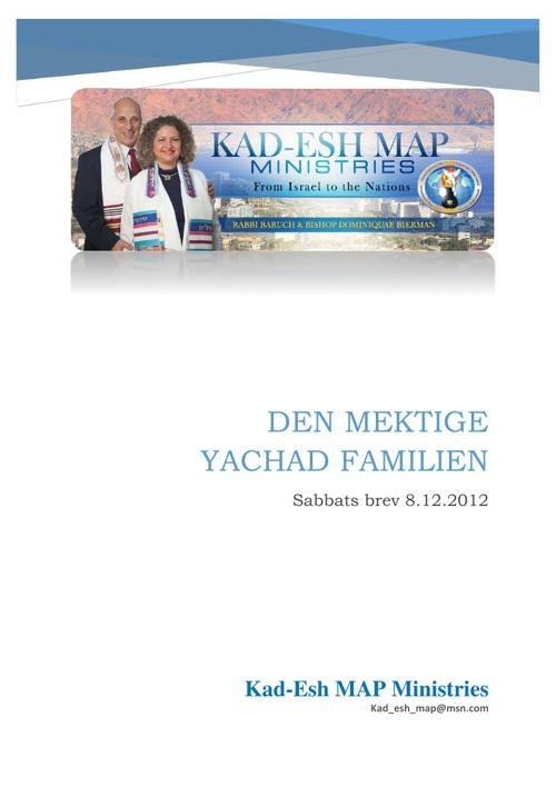 YACHAD familien