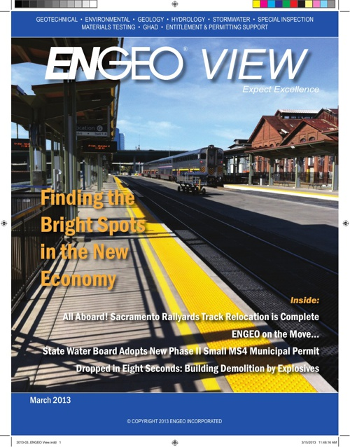 ENGEO View, March 2013