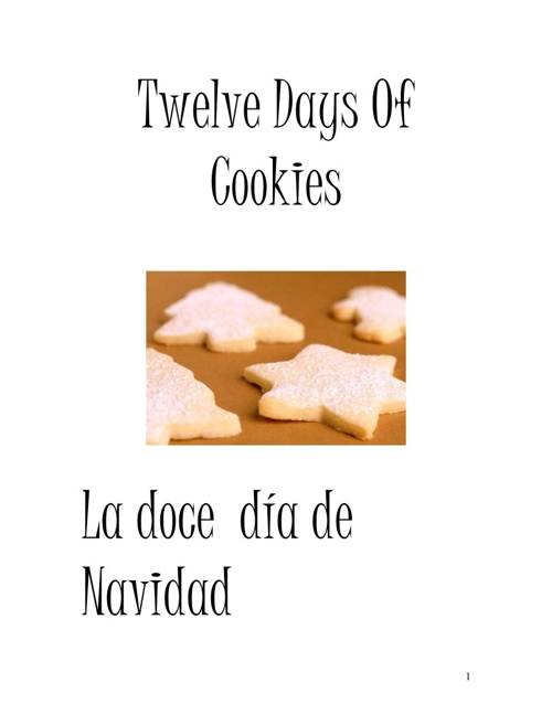 La doce día de Navidad-The Twelve Days Of Cookies