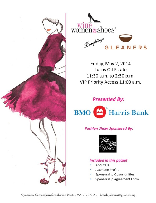 Gleaners Food Bank Wine Women & Shoes 2014