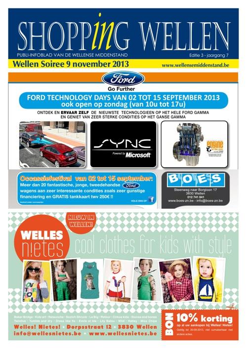 Shopping Wellen - Wellen Soiree Editie 2013-3
