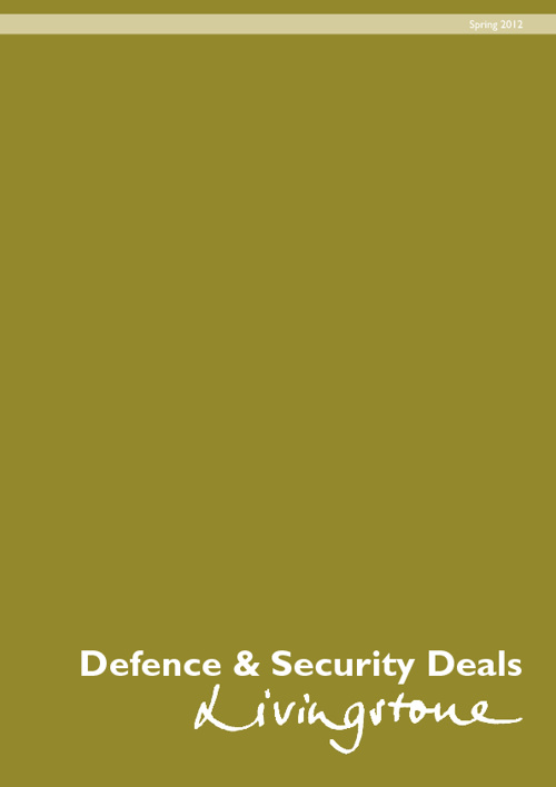 Defence and Security Sector Brochure - Spring 2012