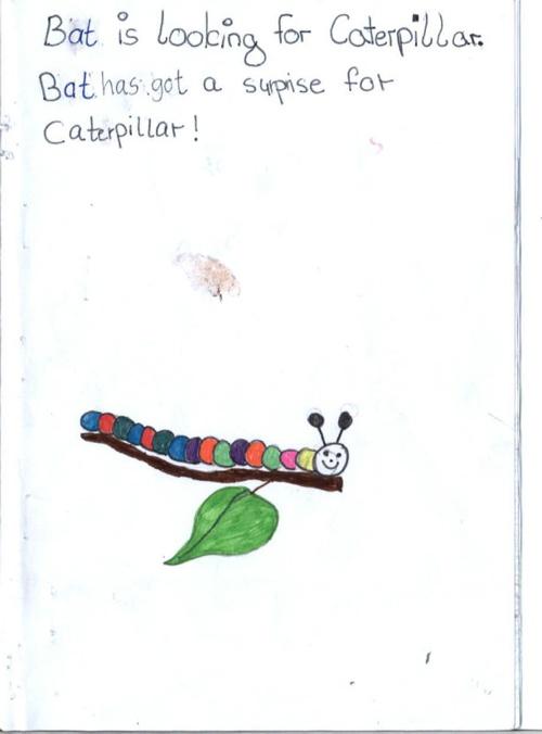 Caterpillar 03 -einzeln-
