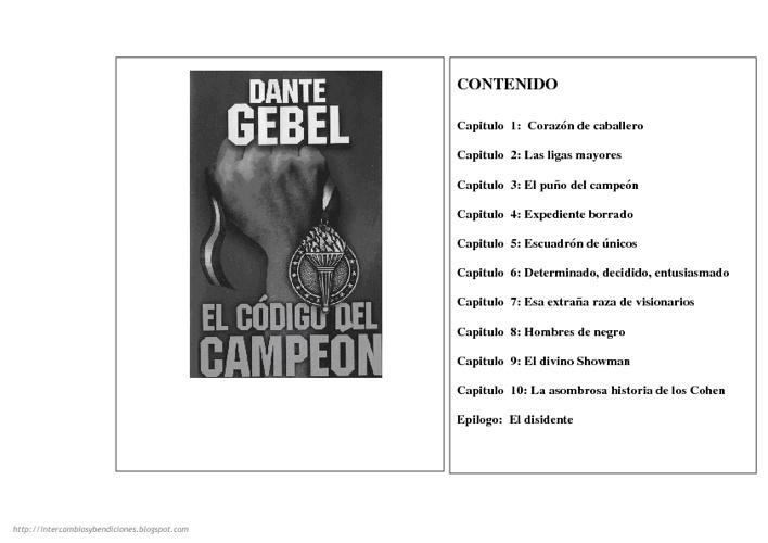 El codigo del campeon: Dante Gebel juancrodriguez