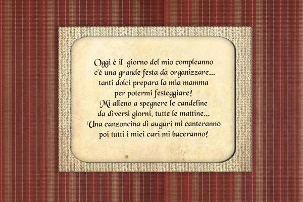 IL COMPLEANNO MAGICO DI GIULIO - ANTEPRIMA