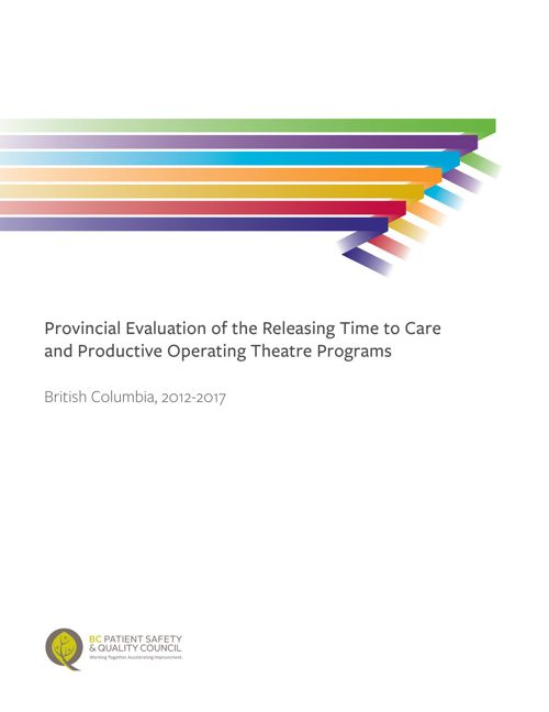 Releasing Time to Care Evaluation Report (2012-2017)