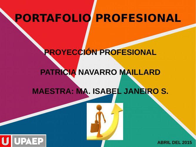 PROYECTO FINAL PATRICIA NAVARRO MAILLARD