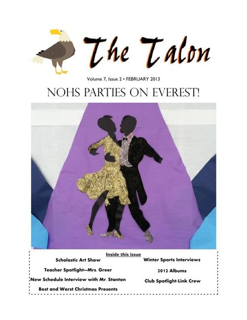 "North Olmsted High School ""Talon"" Newspaper"