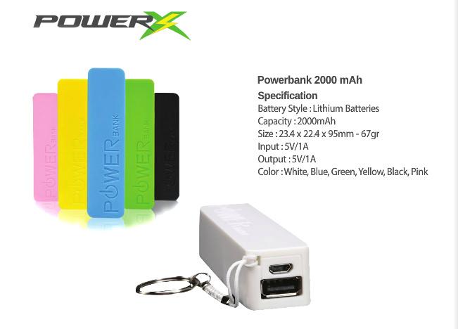 PowerX Powerbank Katalog