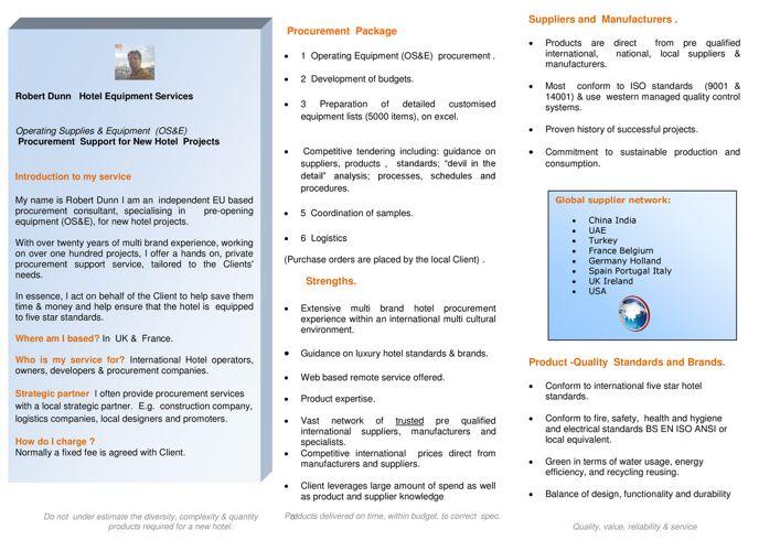 Brochure Dunn OS&E Procurement