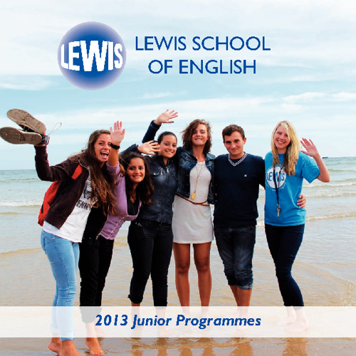 Lewis School Junior Centres Brochure 2013