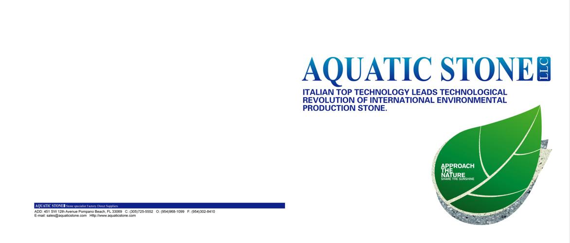 Aquatic Stone Terrazzo Catalog