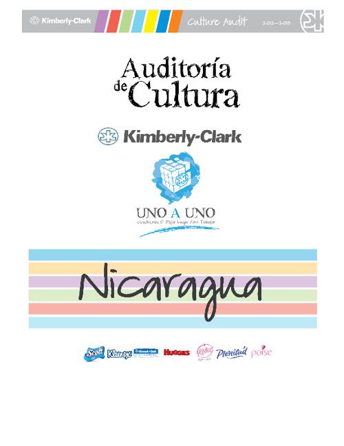 Culture Audit 2012 - Nicaragua