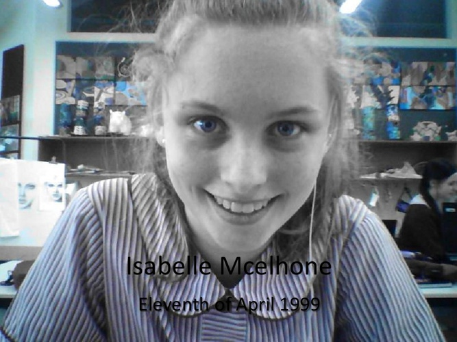 All about me!~Isabelle Mcelhone