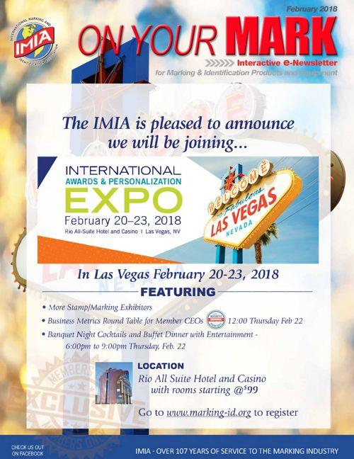 IMIA On Your Mark FEB 2018