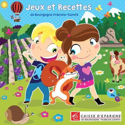 Livre de jeux Caisse d'Epargne Bourgogne Franche-Comté