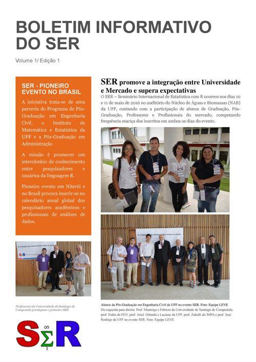 Boletim Informativo do SER 2016