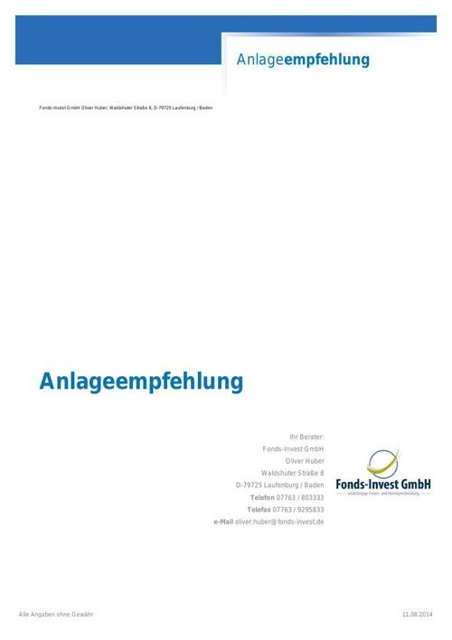 Anlageempfehlung_HP_vv-Fonds 20140630