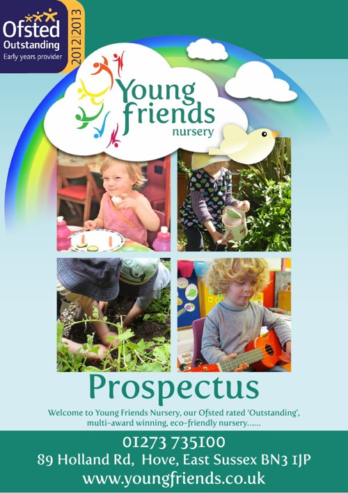 YOUNG FRIENDS PROSPECTUS REVISED