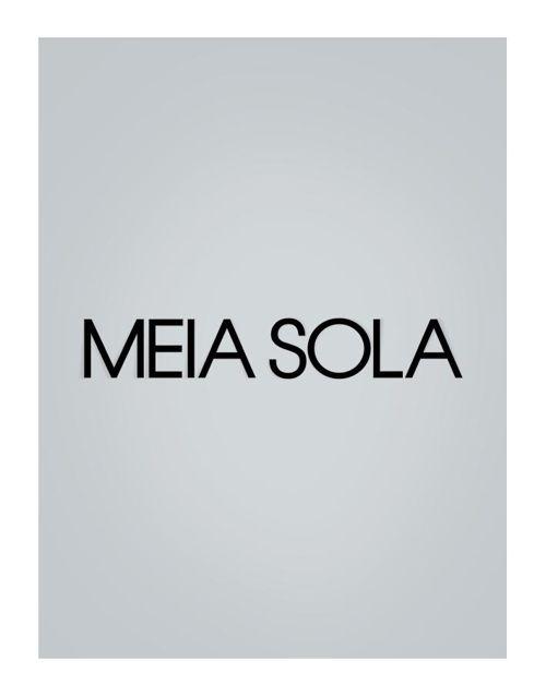Meia Sola - Catálofo INVERNO 2015
