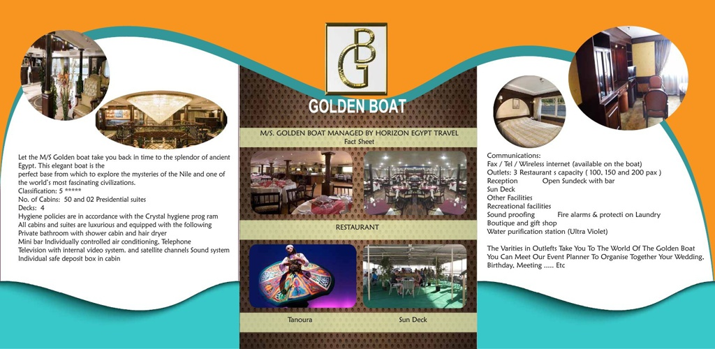 brochure Golden Boat