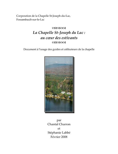 Historique de la Chapelle