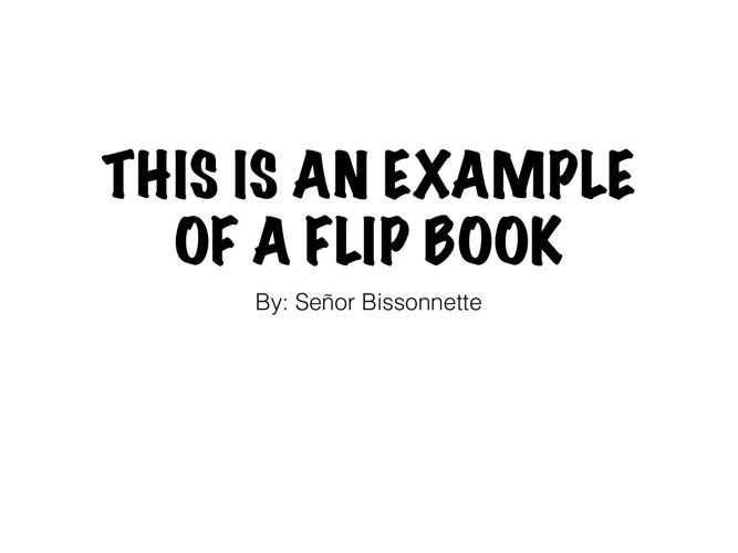 Example flipsnack (ESPAÑOL)