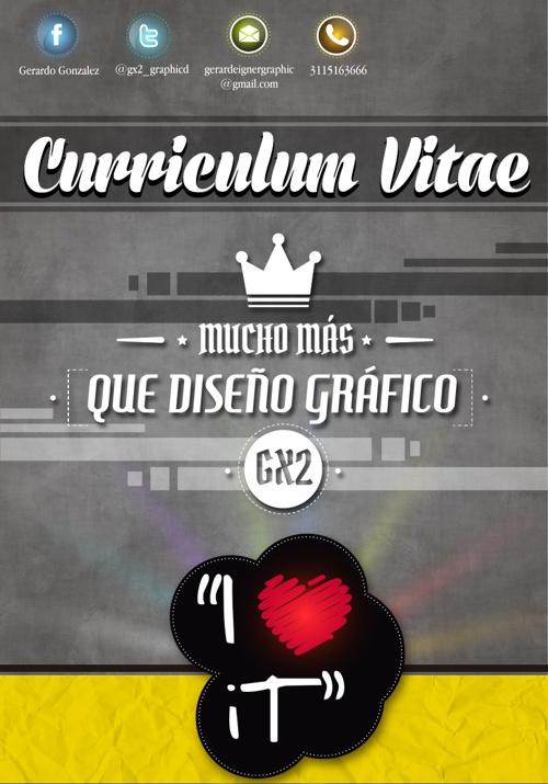 Curriculum Vitae - Gerardo Gonzalez (GX2)