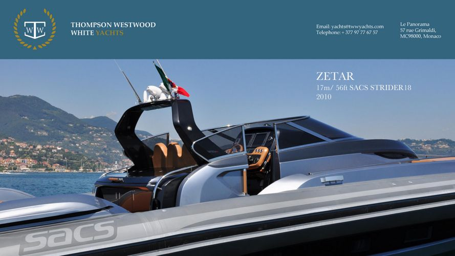 ZetaR brochure 2017 THE ULTIMATE WEEKEND, DAY OR CHASE BOAT