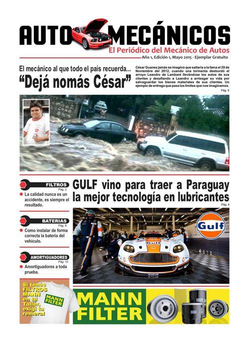 AUTOMECÁNICOS - Edición 1 (Mayo 2015)