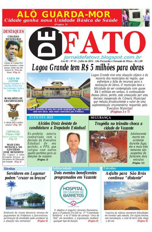 Jornal De Fato 14ª Edição