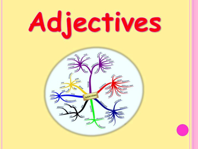 Copy of adjectives