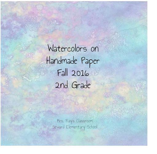Watercolors on Handmade Paper