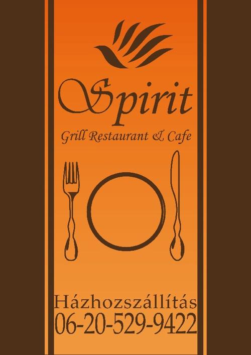 Spirit étterem házhozszállítás