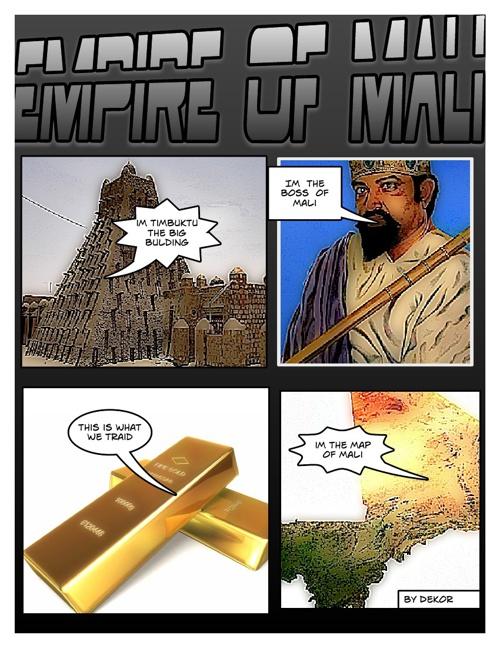 3rd Grade Mali Comic