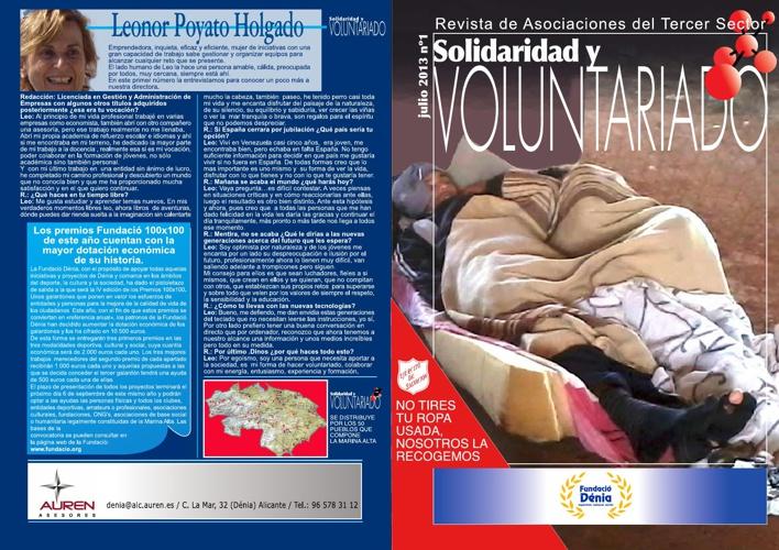 Copy of SOLIDARIDAD Y VOLUNTARIADO. Julio 2013