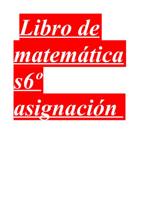 tema 5 de matematicas