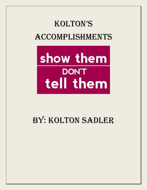 Kolton's Flipbook