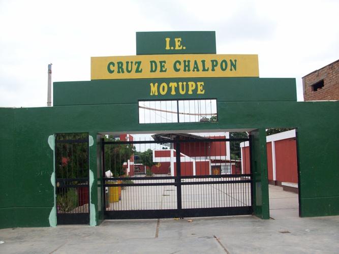 FOTOS DE NUESTRA I.E. CRUZ DE CHALPÓN