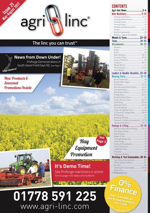Agri-Linc Catalogue Farm Machinery, Parts & Accessories