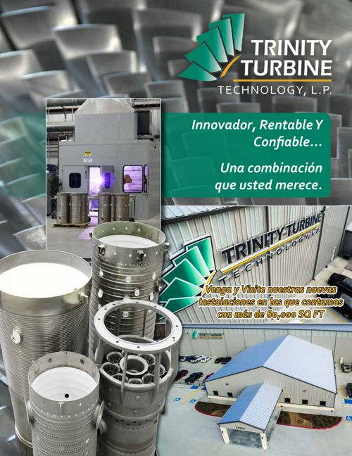 TRINITY TURBINE TECHNOLOGY BROCHURE SPANISH