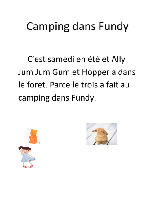 camping au fundy