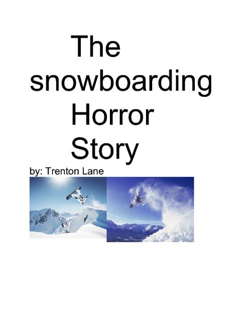 snowboarding horror