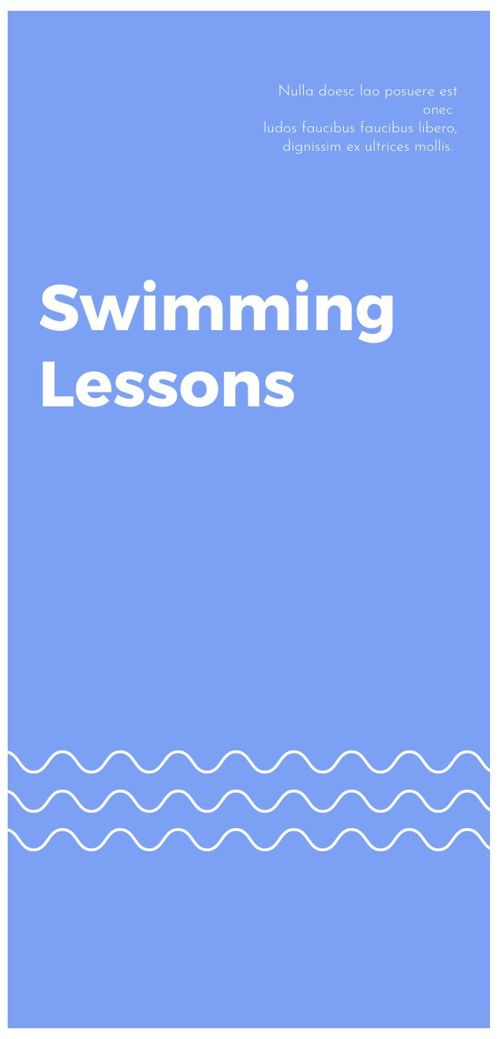 Swiming lessons