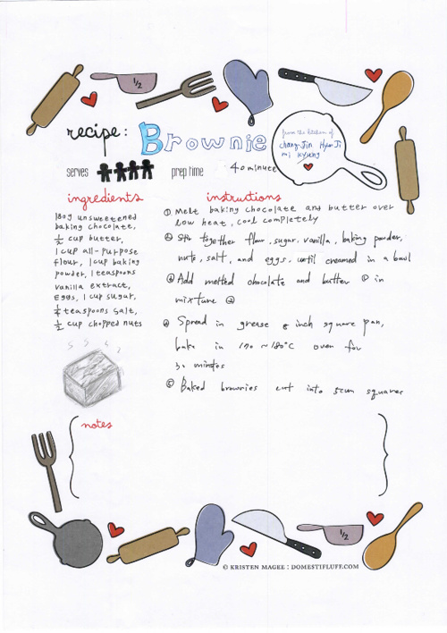 High School Winter English Camp Cookbook