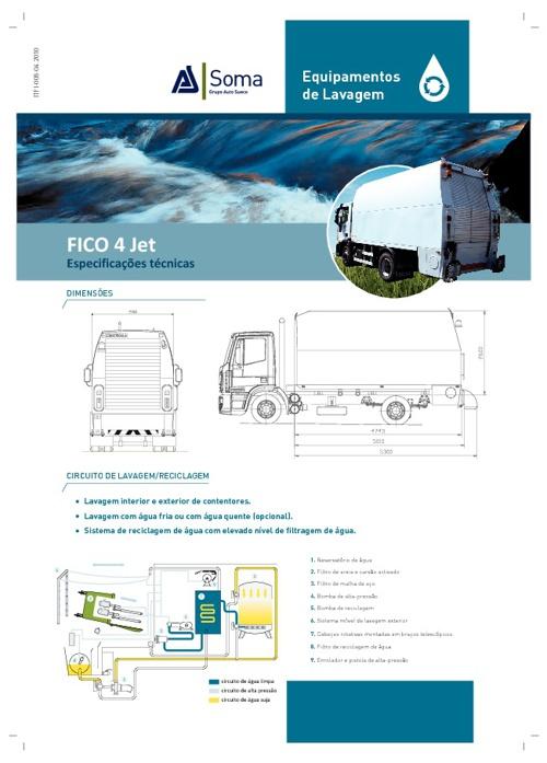 Ficha de Produto Fico 4Jet - Equipamentos de Lavagem