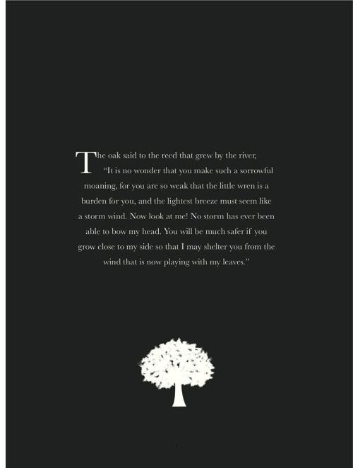 The Proud Oak Tree