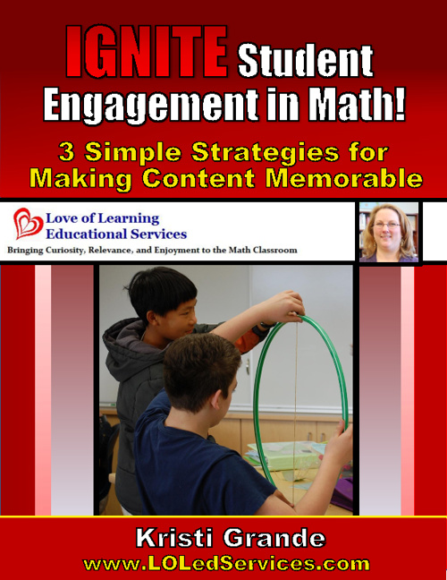 Copy of IGNITE Student Engagement in Math:  3 Simple Strategies
