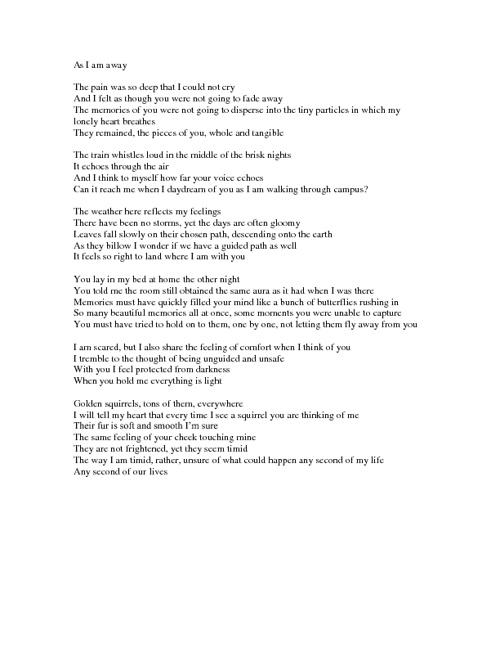Kristen Gray's Poetry